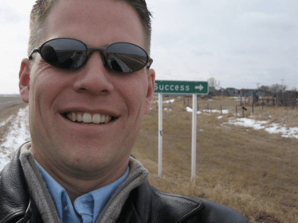 Success, Saskatchewan, Selfie Lionel Johnston 2007