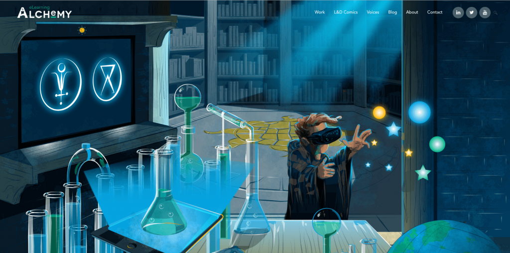 eLearning Alchemy Homepage Image